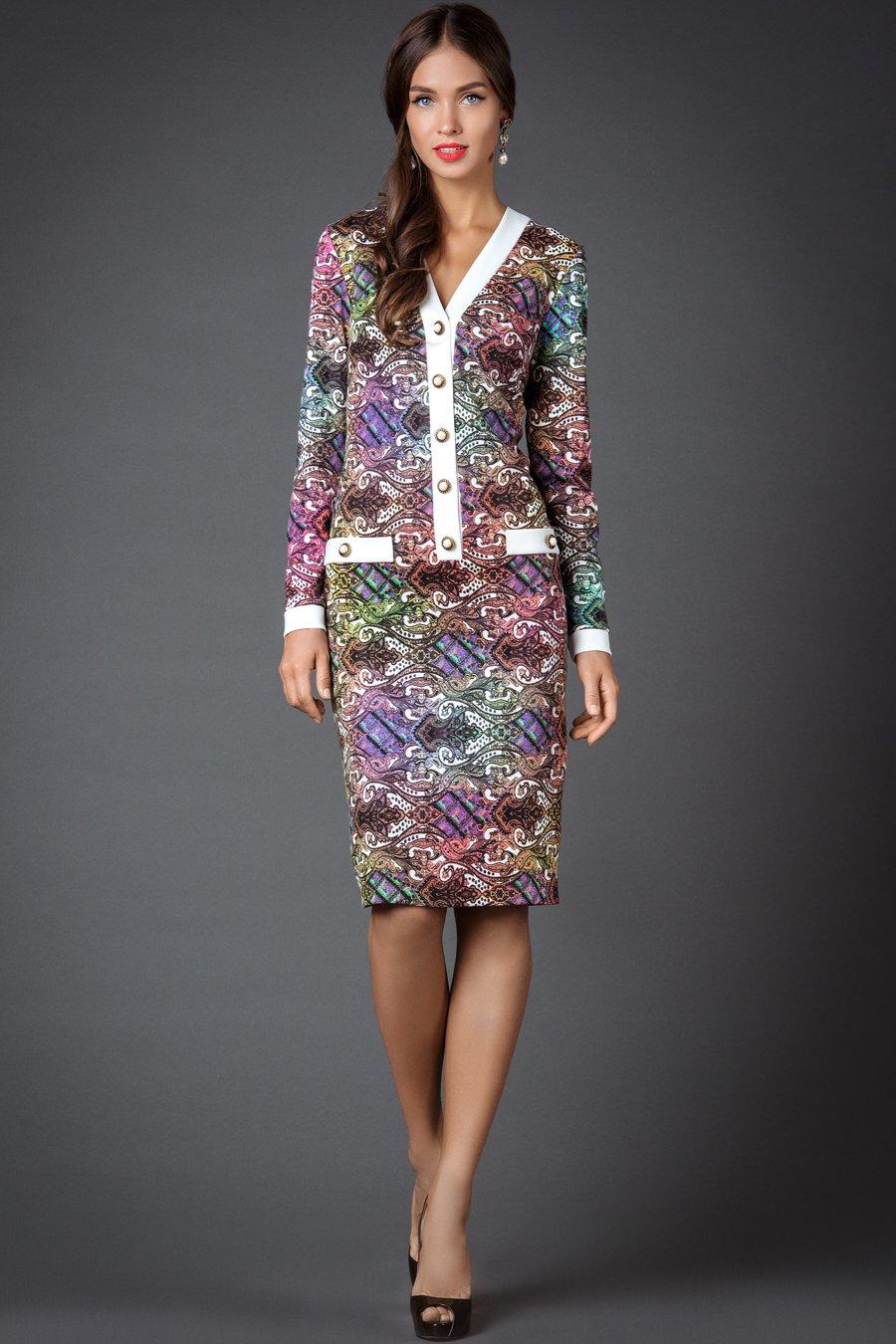 Платье женское из акрилика