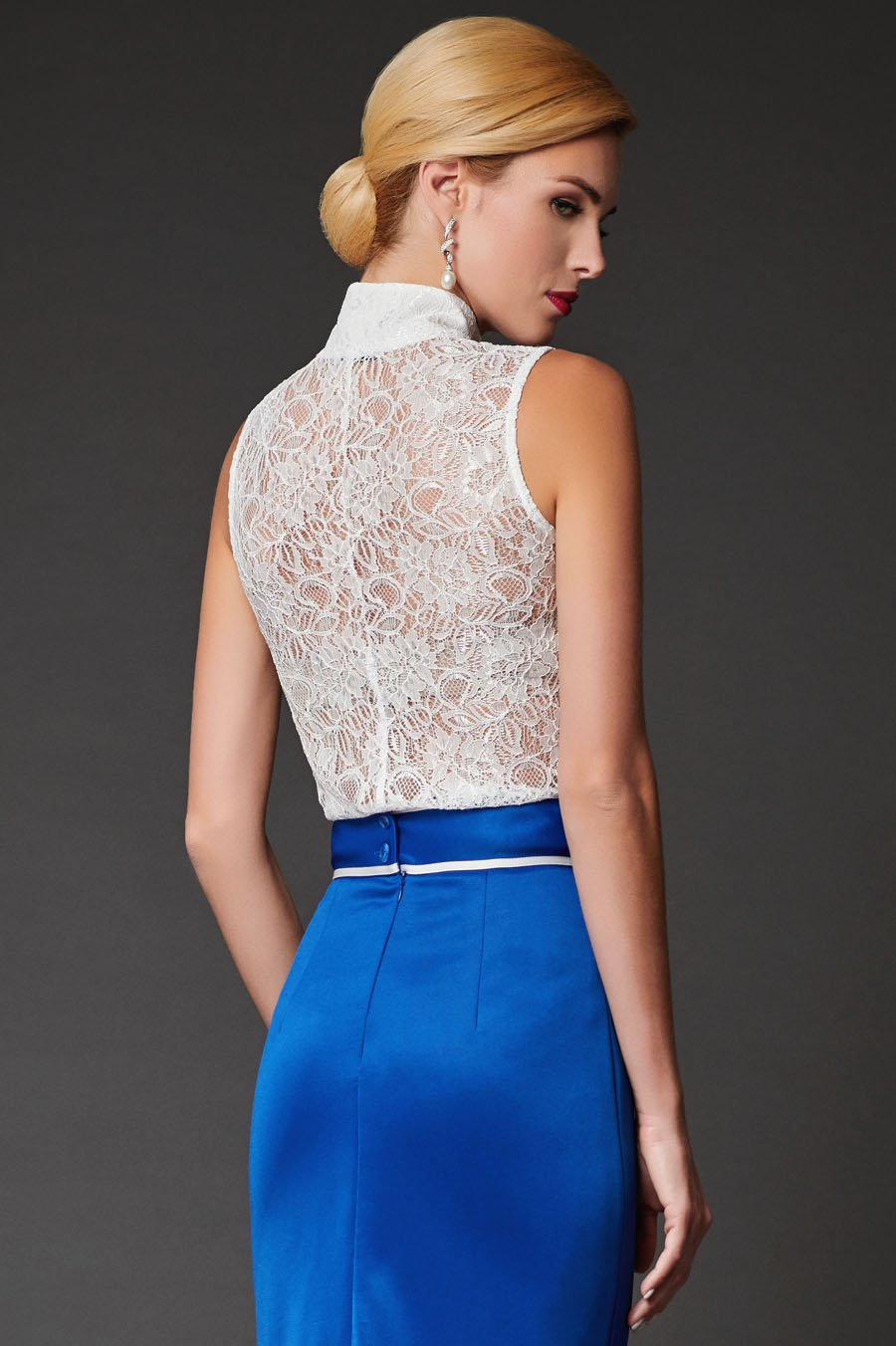 2bf122311b2 Блуза Жабо - одежда оптом в интернет-магазине Арт Деко